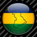 america, anzotegui, south, venezuela icon
