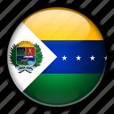 america, apure, south, venezuela icon