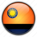 america, cojedes, south, venezuela icon