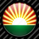 america, lara, south, venezuela icon