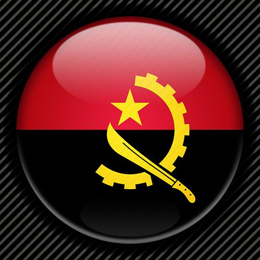 africa, angola icon