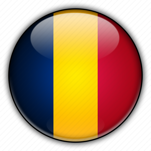africa, chad icon