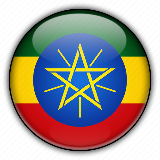 africa, ethiopia icon