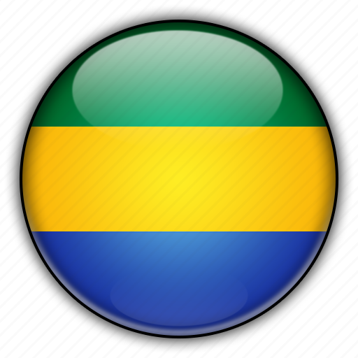 africa, gabon icon