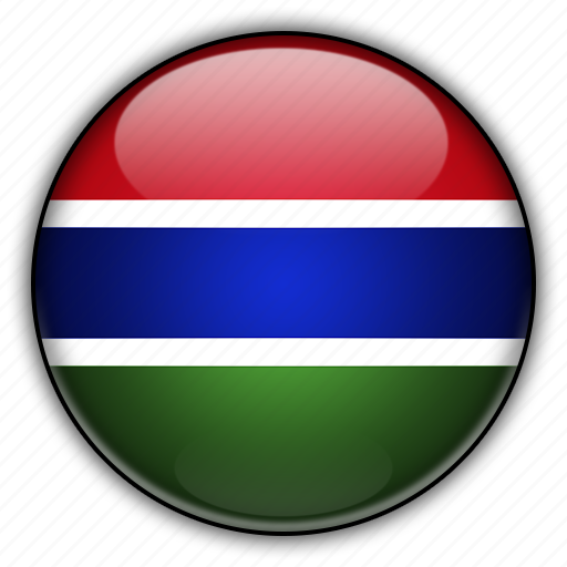 africa, gambia icon