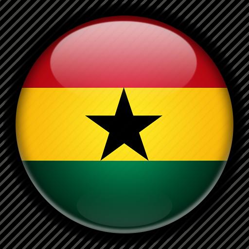 africa, ghana icon