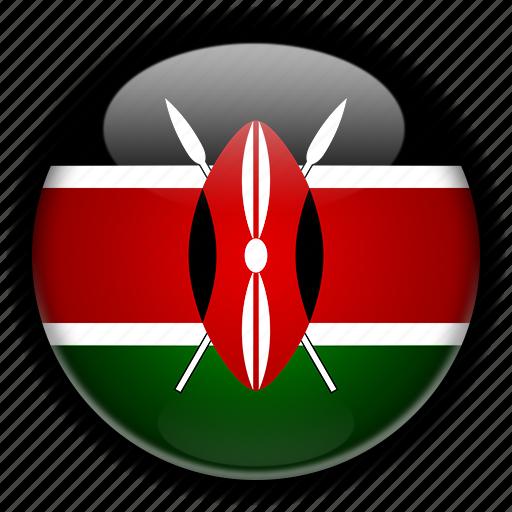 africa, kenya icon