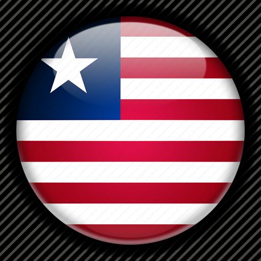 africa, liberia icon