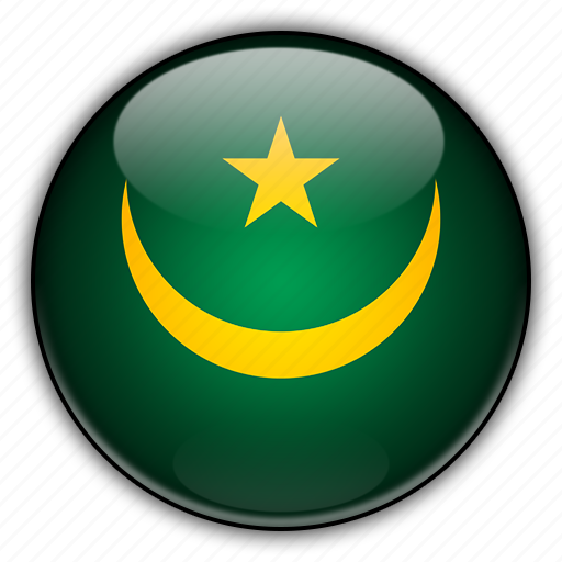 africa, mauritania icon