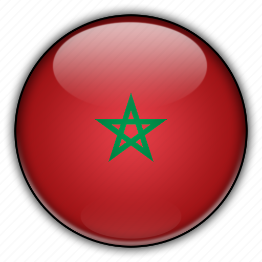 africa, morocco icon