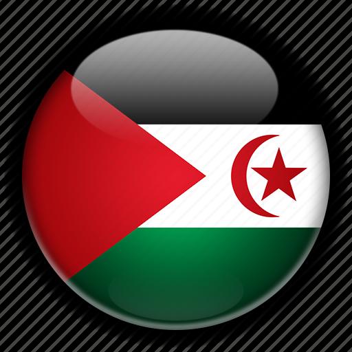 africa, arab, democratic, morocco, republic, sahrawi icon