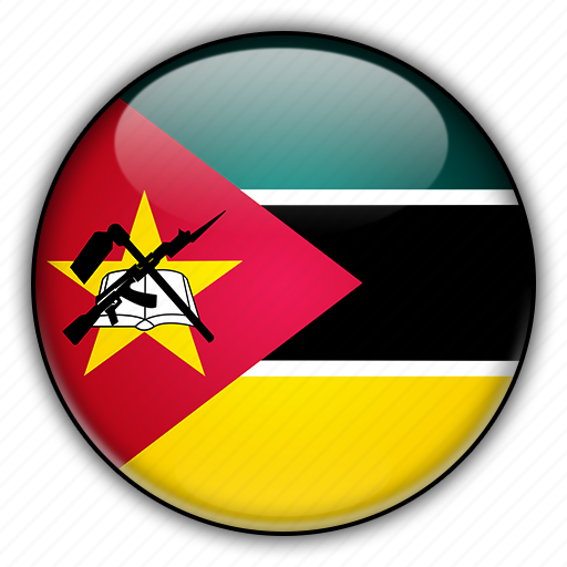africa, mozambique icon