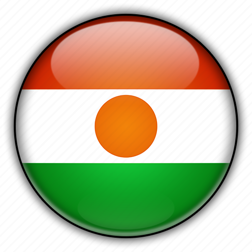 africa, niger icon