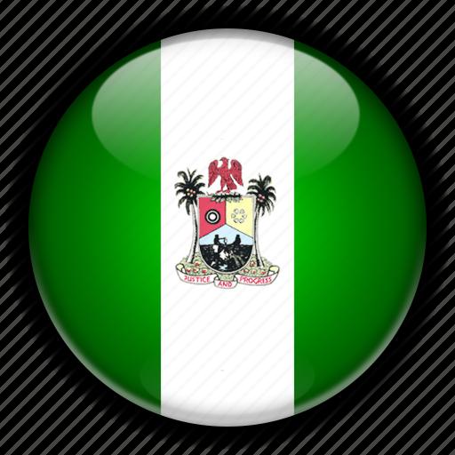 africa, lagos, nigeria icon