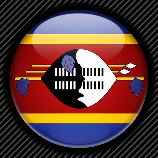 africa, swaziland icon
