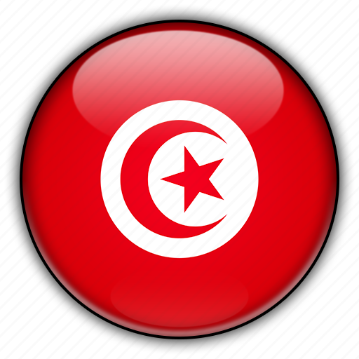 africa, tunisia icon