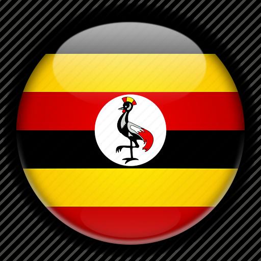 africa, uganda icon