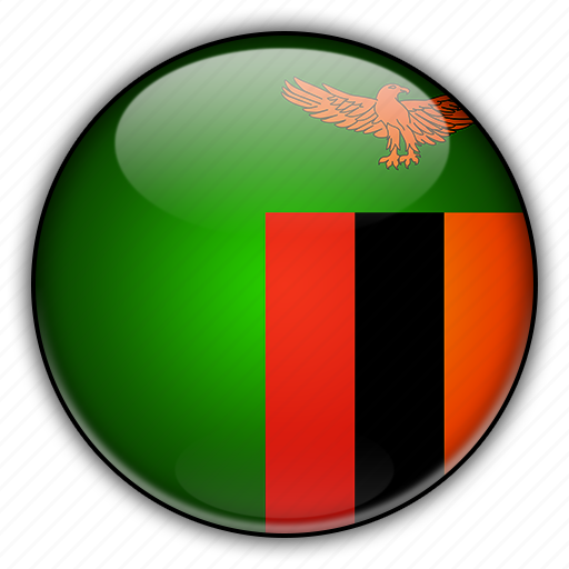 africa, zambia icon