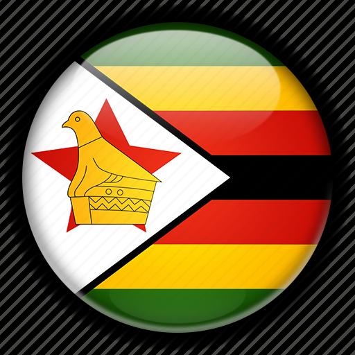 africa, zimbabwe icon