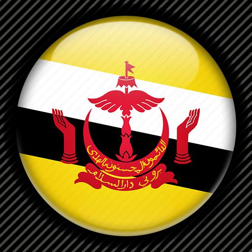 asia, brunei icon