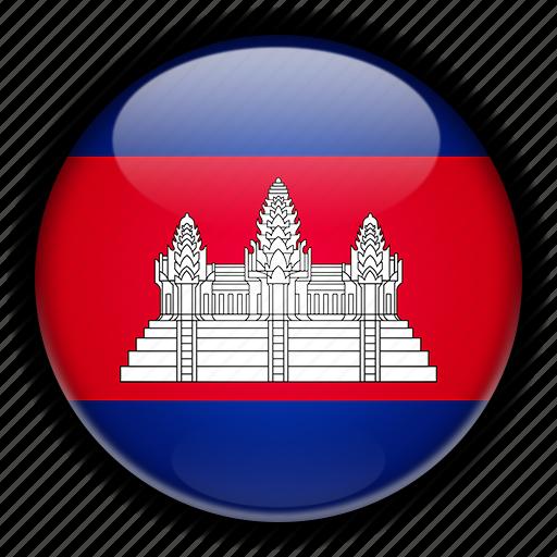 asia, cambodia icon