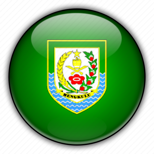 asia, bengkulu, indonesia icon