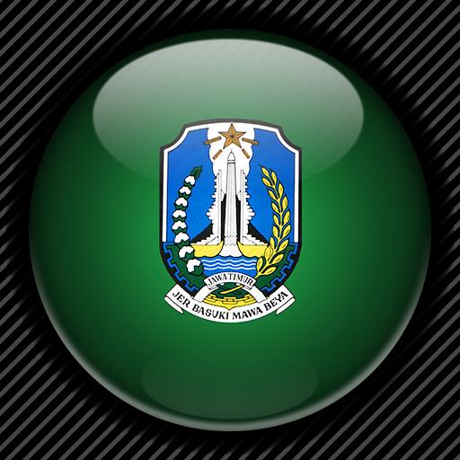 asia, east, indonesia, java icon