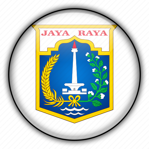 asia, indonesia, jakarta icon