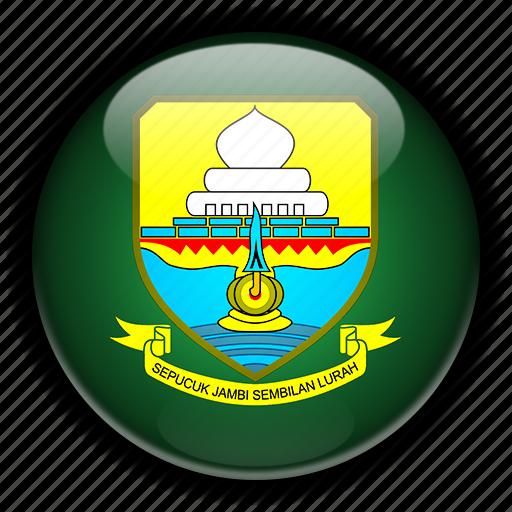 asia, indonesia, jambi icon