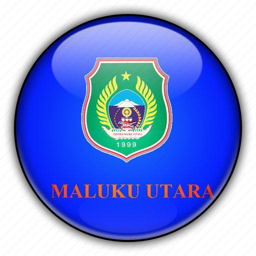 asia, indonesia, maluku, north icon