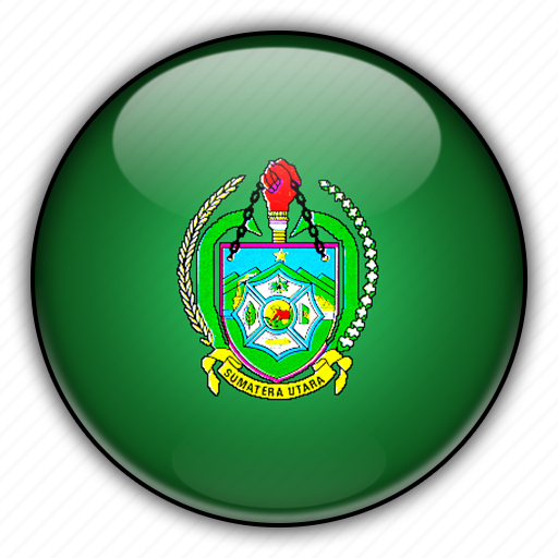 asia, indonesia, north, sumatra icon
