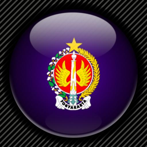 asia, indonesia, yogyakarta icon