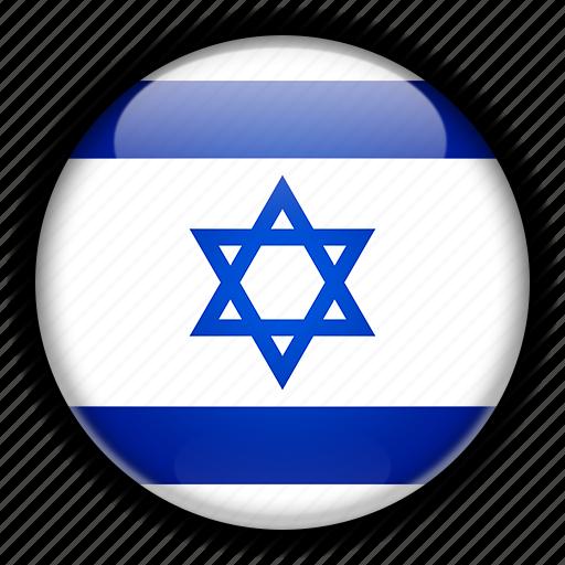 asia, israel icon