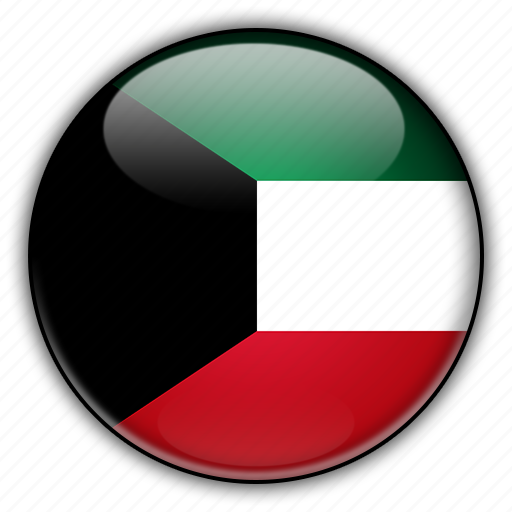 asia, kuwait icon