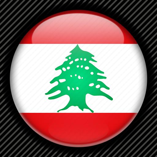 asia, lebanon icon