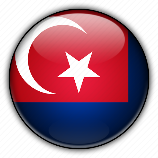 asia, johor, malaysia icon