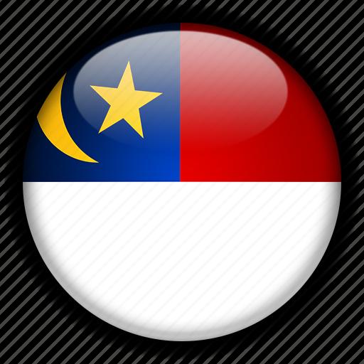 asia, malacca, malaysia icon