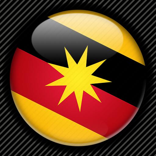 asia, malaysia, sarawak icon