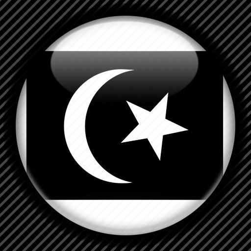 asia, malaysia, terengganu icon
