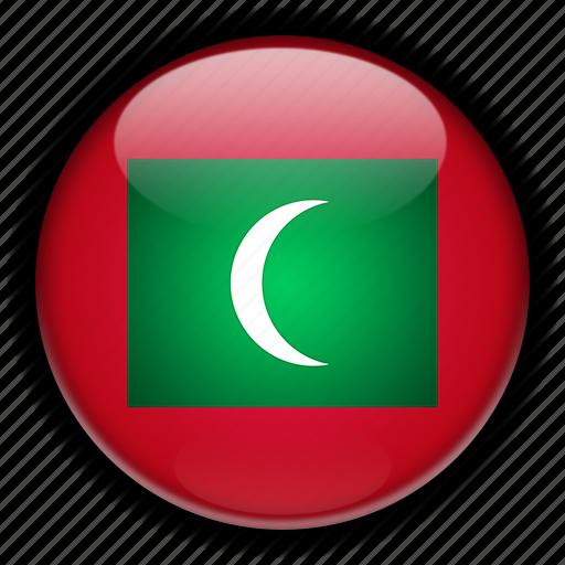 asia, maldives icon