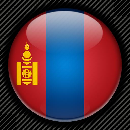 asia, mongolia icon