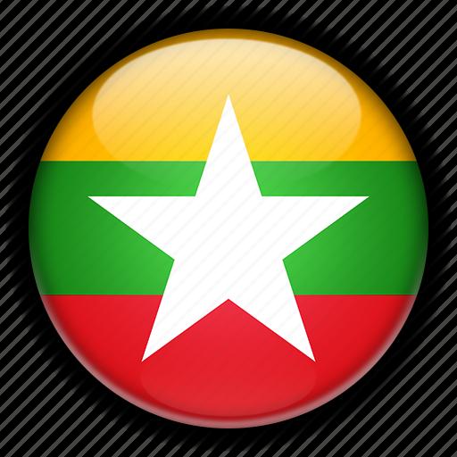asia, myanmar icon