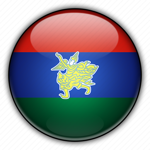 asia, kayah, myanmar icon