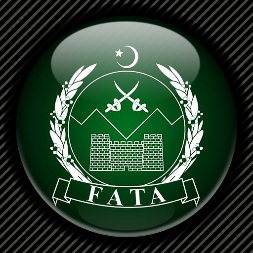 asia, fata, pakistan icon