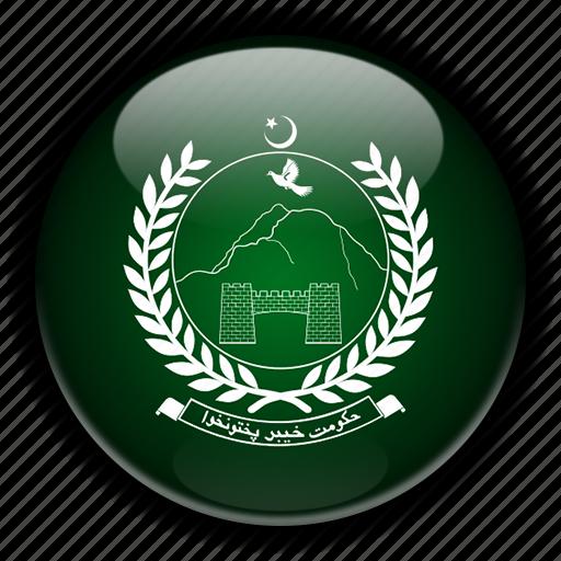 asia, khyber, pakhtunkhwa, pakistan icon