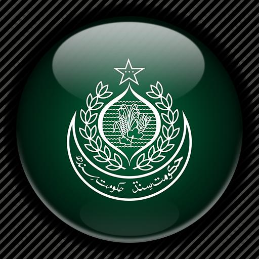 asia, pakistan, sindh icon