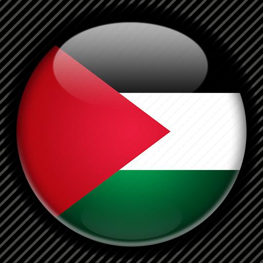 asia, palestine icon