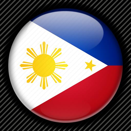 asia, philippines icon