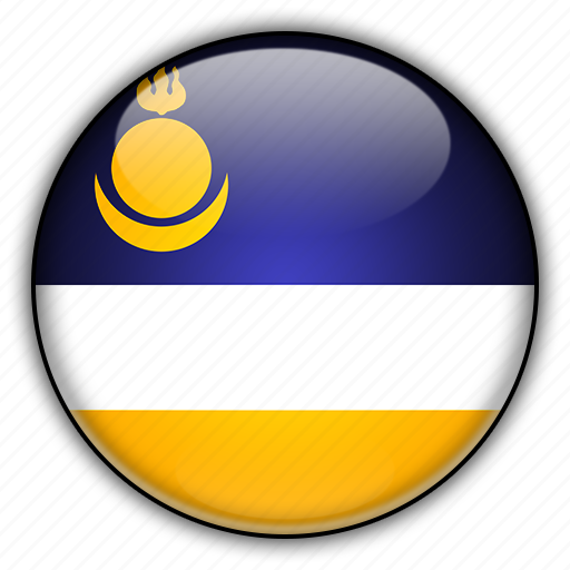 asia, buryatia, russia icon