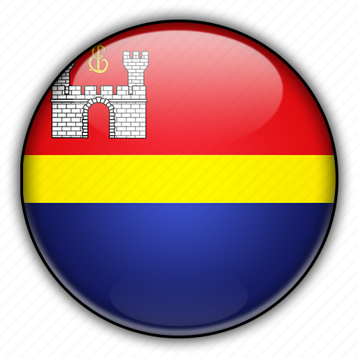 asia, kaliningrad, russia icon